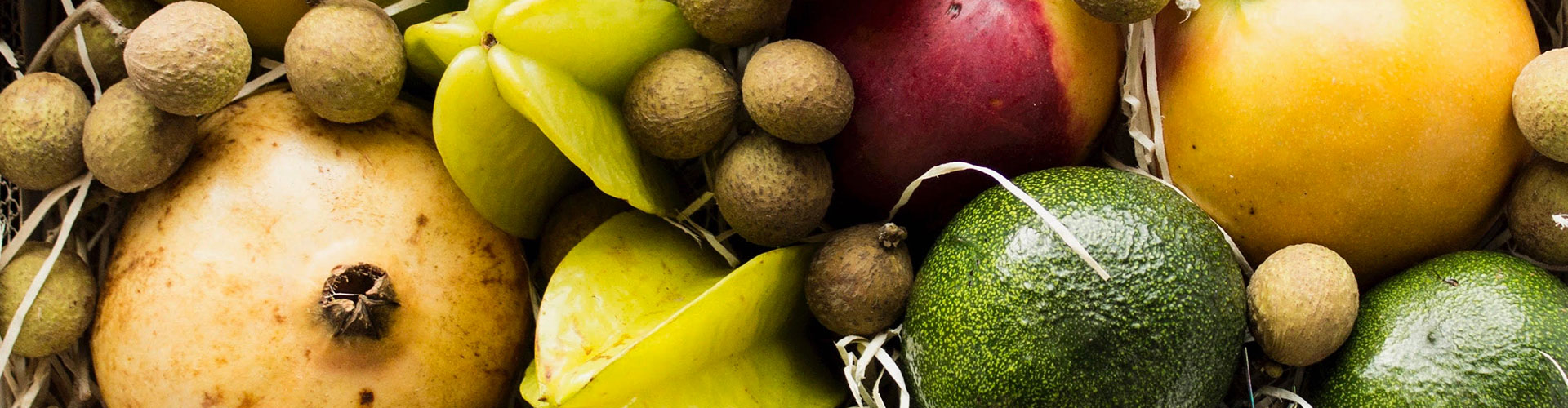 Frutas tropicales de temporada