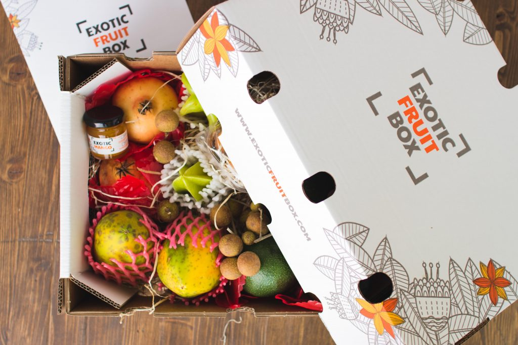 Exotic Fruit Box Enero