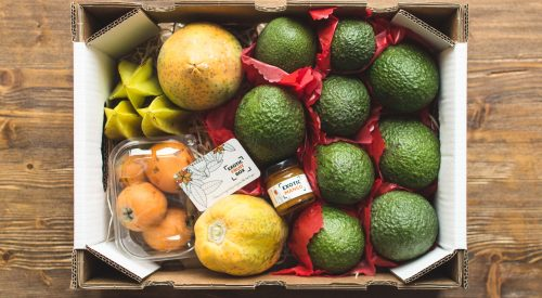 Exotic Fruit Box April
