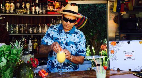 Zumo de Mango y Papaya