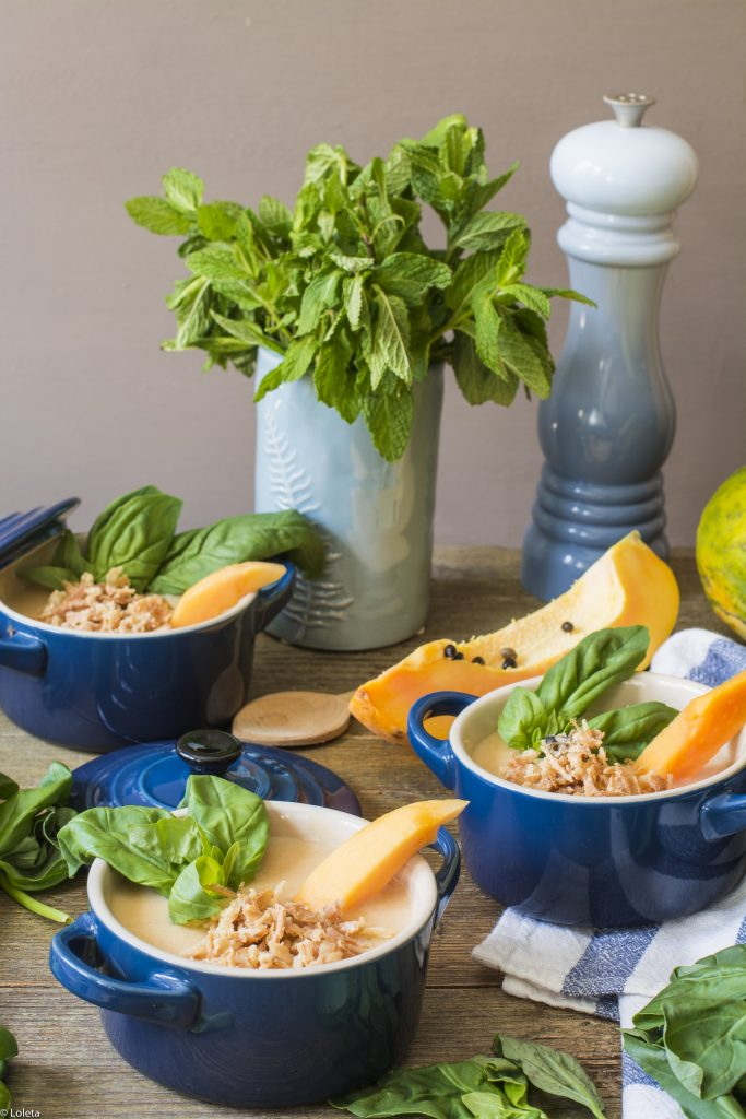 Crema de papayas 2