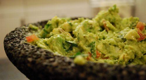 El guacamole es una receta impulsada por aztecas hoy distribuida por un gran número de países