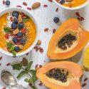 Sorbete vegano de papayas 2