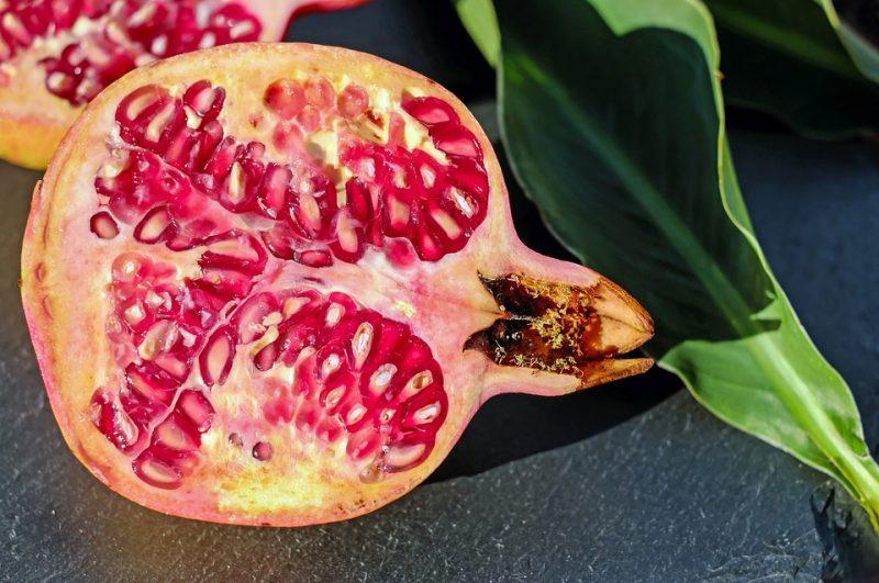 el poder antioxidante de la granada y sus efectos en el organismo