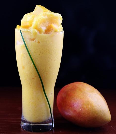 mousse de mango para reponer energías