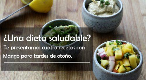 cuatro recetas con mango para las tardes de otoño