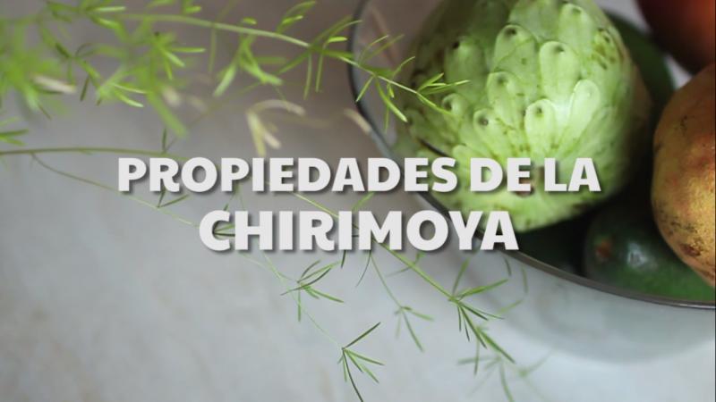 propiedades de la chirimoya