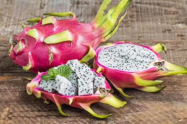Pitaya- oder Drachenfrucht