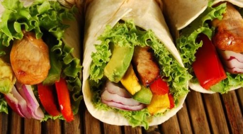 Avocado-Wraps