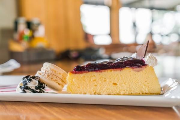 Pastel de mango y queso, una combinación exquisita