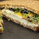 Sandwich de mango et brie