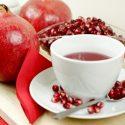 Té de granada, una bebida para distintos remedios curativos