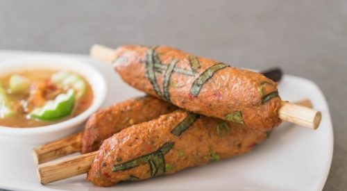 Aguacate empanado con salsa tártara, un entrante diferente