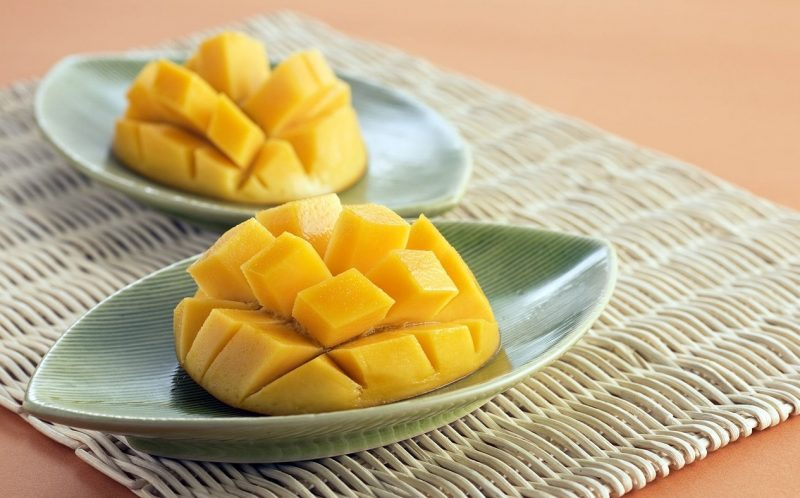 mango troceado Exotic Fruit Box
